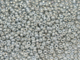 Miyuki Rocailles Beads 2mm 1866 opak Grey Luster ca 12gr