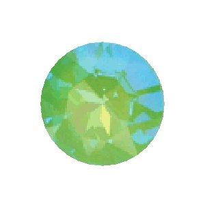 Swarovski Elements Stein rund 27mm Ultra Lime AB beschichtet 1 Stück