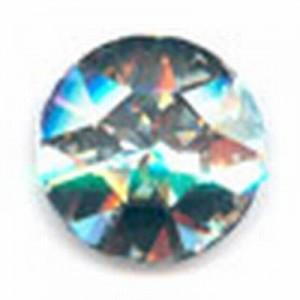 Swarovski Elements Stein rund 27mm Crystal Foiled
