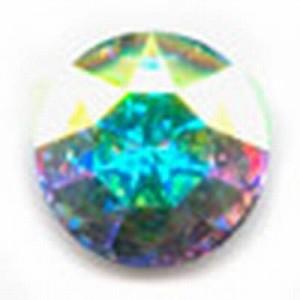 Swarovski Elements Stein rund 27mm Crystal AB Foiled