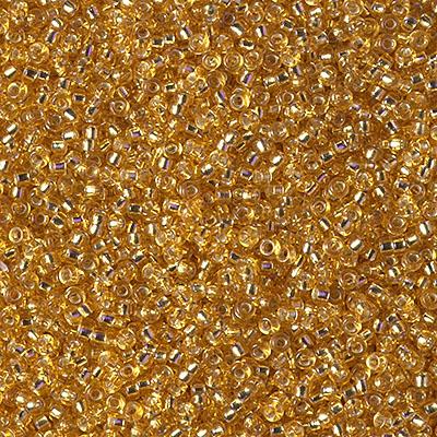 Miyuki Rocailles Perlen 1.5mm 0004 dark Gold ca 11gr