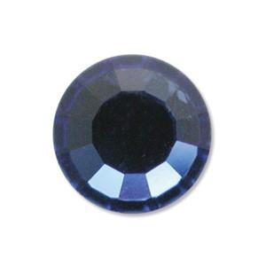 Swarovski Elements Chaton Steine SS29 Sapphire foiled