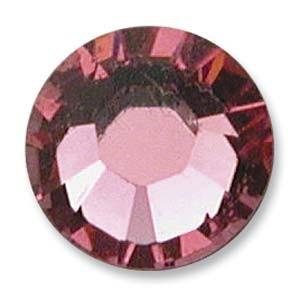 Swarovski Elements Chaton Steine SS19 Rose foiled
