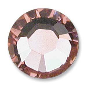 Swarovski Elements Chaton Steine SS19 Light Rose foiled