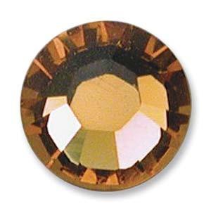 Swarovski Elements Chaton Steine SS19 Topaz foiled