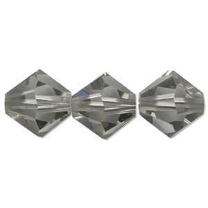 Swarovski Elements Perlen Bicones 3mm Black Diamond 50 Stück