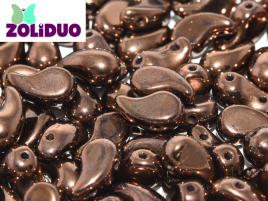Zoliduo® Left Version 5 x 8 mm Jet Bronze ca 50 Stück