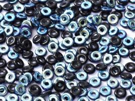 O-Beads 2x4mm 2423980-28701 Jet AB beschichtet ca 8,1gr