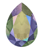 Swarovski Elements Steine 18x13mm Crystal Paradise Shine F 1 Stück