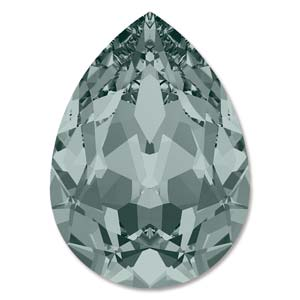 Swarovski Elements Steine 18x13mm Black Diamond F 1 Stück