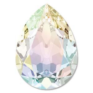 Swarovski Elements Steine 18x13mm Crystal Light Grey DeLite 1 Stück