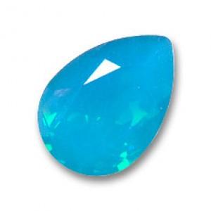 Swarovski Elements Steine 14x10mm Caribbean Blue Opal F 1 Stück