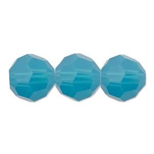 Swarovski Elements Perlen Kugeln 8mm Caribean Blue Opal