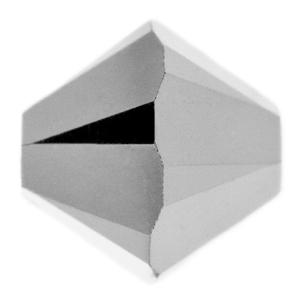 Swarovski Elements Perlen Bicones 4mm Crystal Light Chrome 2X beschichtet 100 Stück