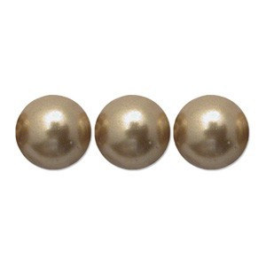 Swarovski Elements Perlen Crystal Pearls 4mm Bright Gold Pearls 100 Stück