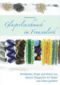 Glasperlenschmuck im Fransenlook von Claudia Schumann