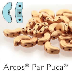 Arcos par Puca ® 5x10mm 02010-25003 Pastel Amber ca 10 gr