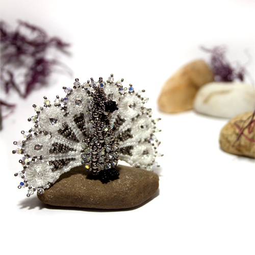 Anleitung Perlen fädeln - Amalia