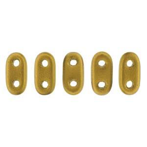 Bar-Beads 2x6mm Metallic matt Antik Gold ca 10 g