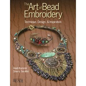 Perlenbuch von Sherry Serafini Art of Bead Embroidery englischsprachig