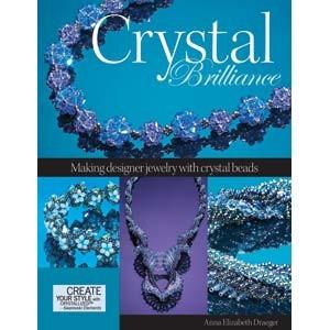 Perlenbuch Crystal Brilliance von Anna Elizabeth Draeger englisch