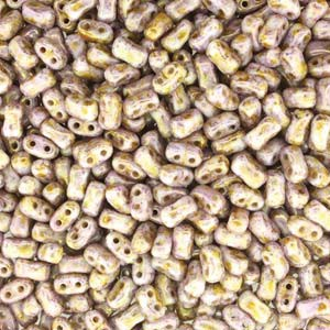 Bi-Bo-Beads 5,5x2,8mm Chalk Senegal Brown ca 10gr
