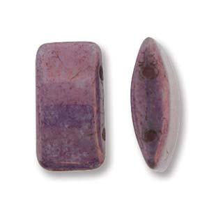 Carrier Beads 9x17mm Purple Vega 15 Stck