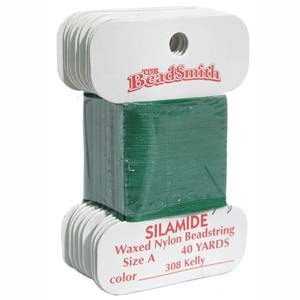 Silamide Kelly Green 40 yard Card ca 36m