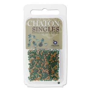 Chaton Steine PP17 Emerald ca 3gr.