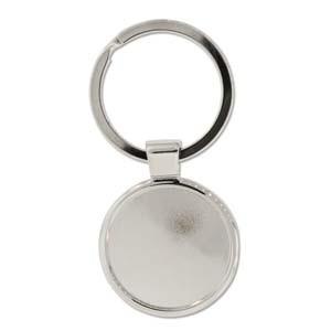 Schlüsselanhänger  für Crystal Clay rund 30mm