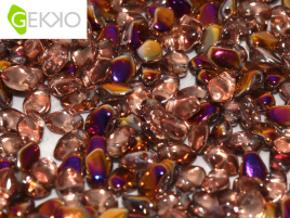 Gekko Beads 3x5mm Crystal Sliperit ca 10 gr