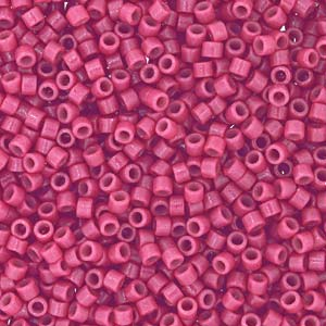 Miyuki Delica Beads 1,6mm Duracoat dyed Opaque Pansy DB2118 ca 7,2 gr