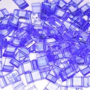 Acryl Trägerperlen 18x9x5mm Blue Violet 30 Stück