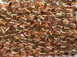 Dragon Scale Beads 1,5x5mm Crystal Capri Gold ca 9,5 gr
