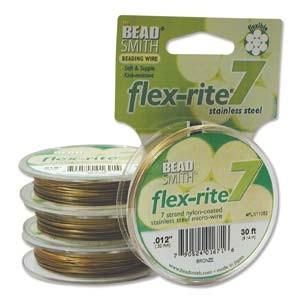Flexrite 7strängig 0,3mm Bronze 9,14m