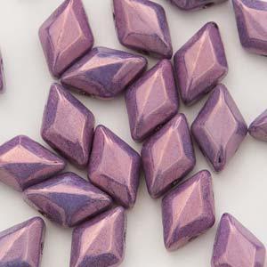 Gemduo 8x5mm Chalk Vega Purple ca 10 Gramm