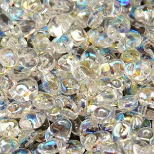 Glasperlen Superuno Beads 2,5x5mm UN0500030-28701-05 Crystal AB ca 22gr