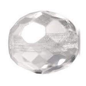 Glasschliffperlen 3mm Crystal 100 Stück