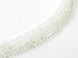 Glasschliffperlen 2mm Crystal ca 150 Stück