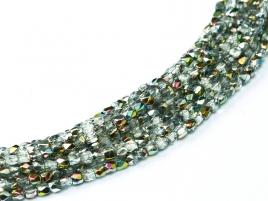Glasschliffperlen 2mm Crystal Vitrail ca 150 Stück