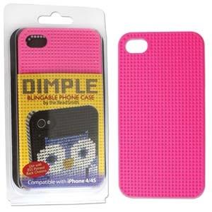 IPhone 4-4S Cover Pink für PP17 Steine