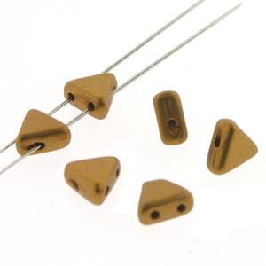 Kheops Pearls 6x6mm 00030-01740 Matt Bronze Gold ca 9 gr