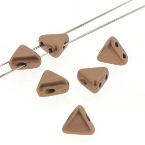 Kheops Pearls 6x6mm 00030-01780 Matt Copper Gold ca 9 gr