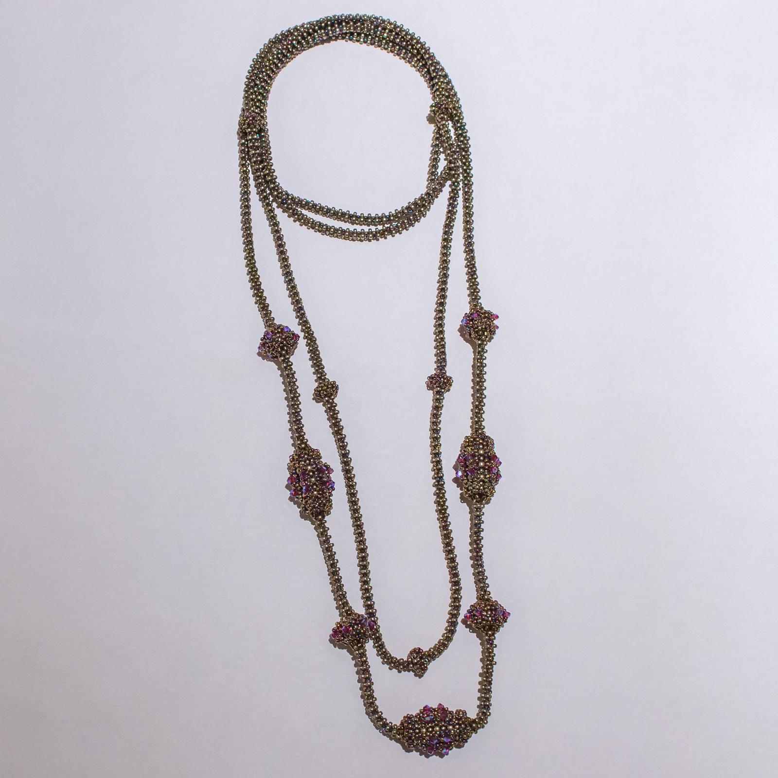 Anleitung Perlen fädeln - Knubbelei