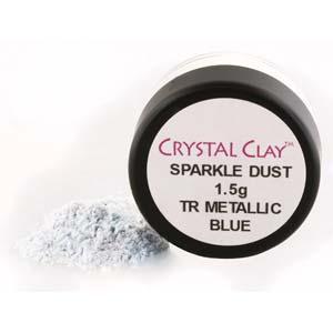 Mica Puder Transparent Metallic Blue ca 1,5gr