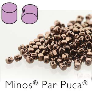Minos par Puca ® 2,5x3mm 23980-14415 Jet Bonze ca 10 gr
