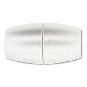 Magnetverschluss silberfarben 42x25mm