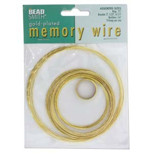 Memory Wire Set Gold