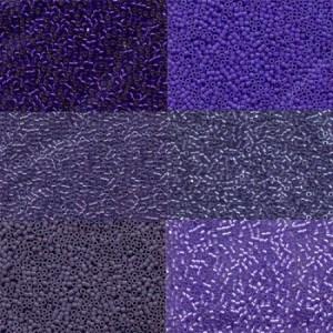 Miyuki Beads Set Lilacs