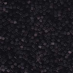 Miyuki Beads Sharp Triangle Beads 2,5mm 0401F opaque matt Black 13 Gr.